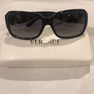 Versace Polarized Black Gradient Sunglasses 4170